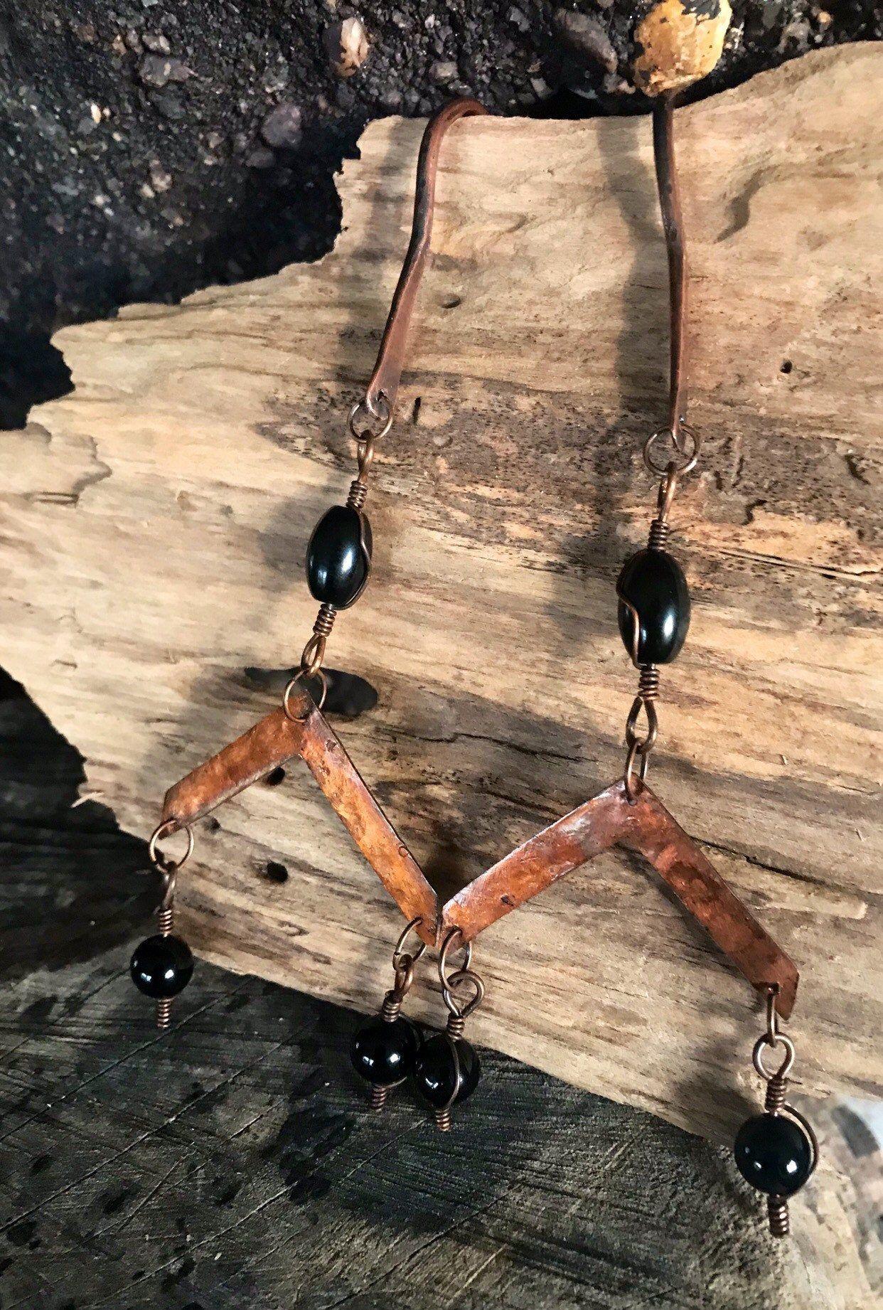 10 gauge onyx crystal ear weights gauges copper ear