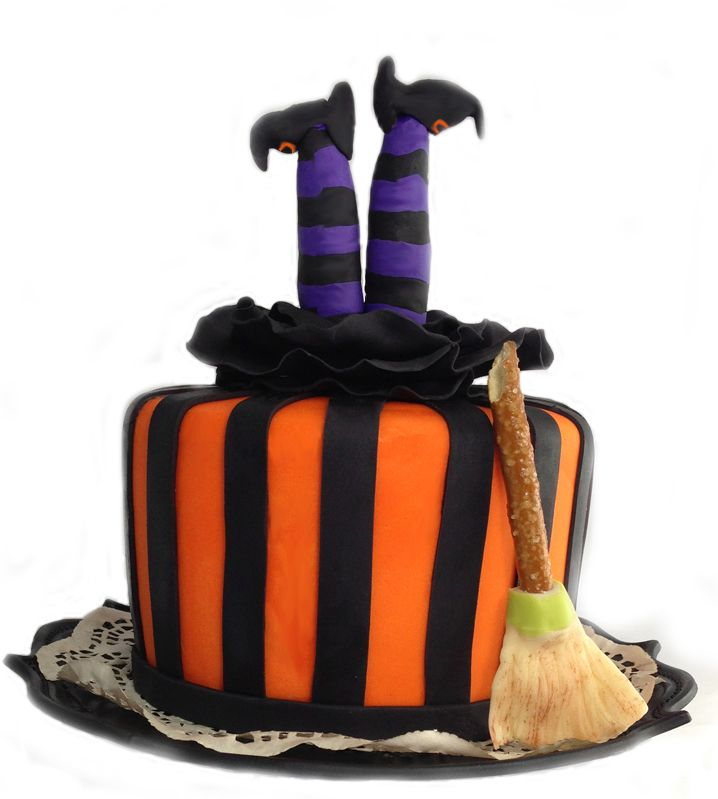 Halloween witch cake. Facebook.com/VentidesignCake