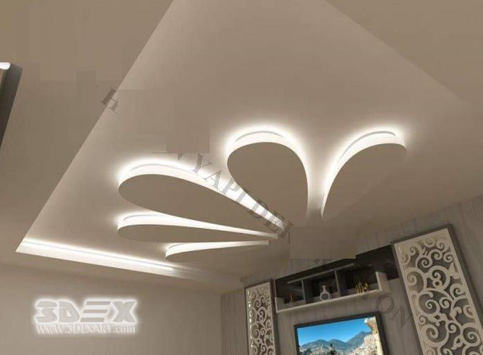 Latest Pop Design For False Ceiling For Living Room Hall Pop Roof Design 2018 Full 2018 Catalogue For Pop Fa False Ceiling Design False Ceiling Ceiling Design