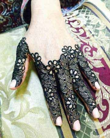 Stylish Finger Mehndi Designs 2017 New Style