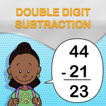 Double Digit Subtraction Worksheet Maker - Create Infinite Math ...