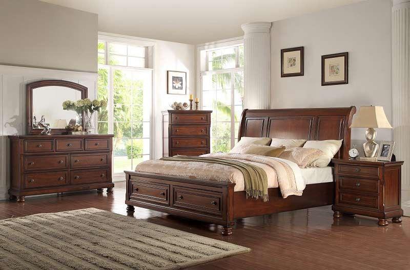 Mcferran Home Furnishings  B608 3 Piece California King Bedroom Prepossessing Cal King Bedroom Sets Inspiration Design