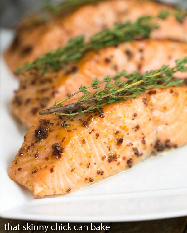 Dinner Party Entree Ideas Recipe Part - 43: Maple Mustard Glazed Salmon | A Super Easy Glaze, Then 15 Minutes In The  Oven