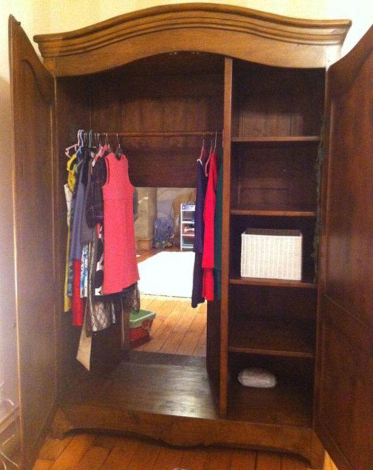 Beautiful Secret Room Inside Wardrobe