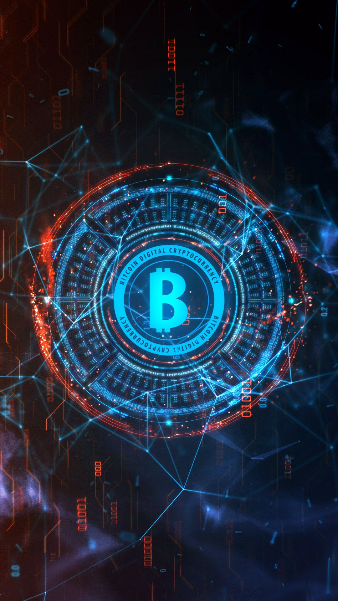 Bitcoin Background Technology Wallpaper Live Wallpapers Cryptocurrency