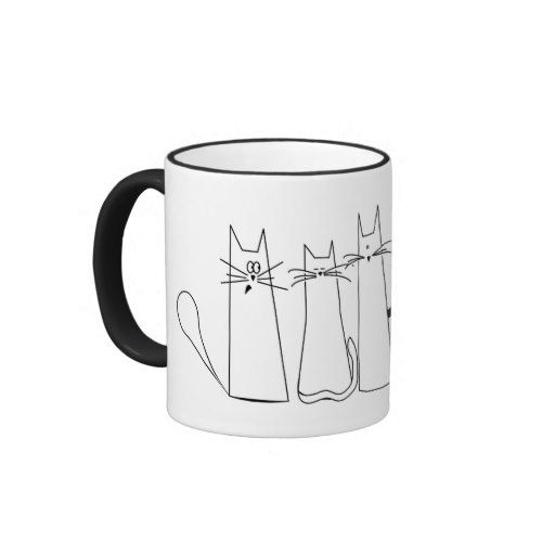 CatsMug Ringer Mug