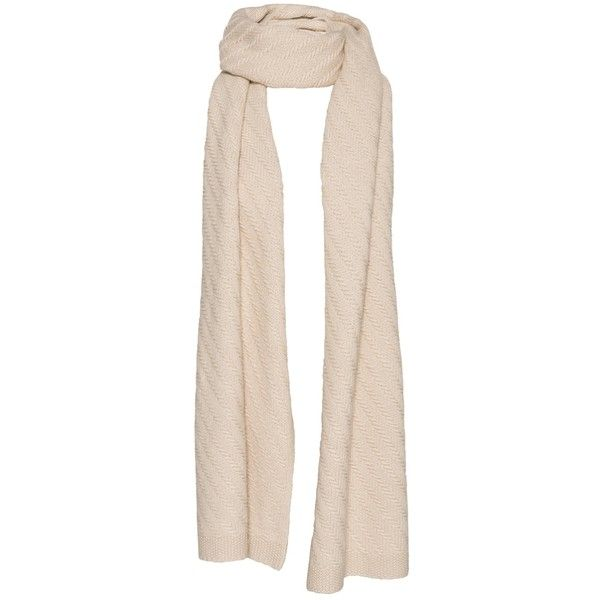 Woolen Scarf ($125) ❤ liked on Polyvore