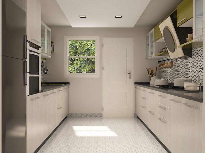 ruggine parallel modular kitchen parallel kitchen design on kitchen interior parallel id=30435