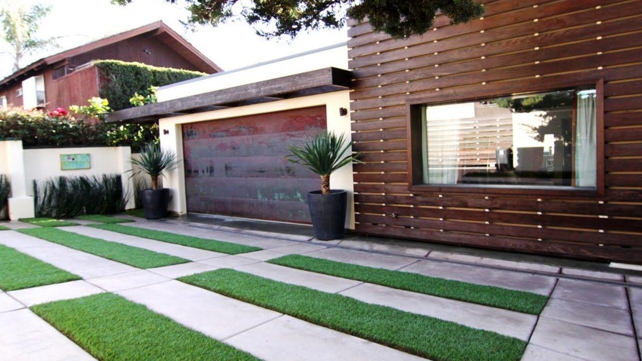 Paver Driveway Design Ideas Landscape Hardscape Applications Longdrivewaypavingideas House Exterior Modern Beach House Modern House Exterior