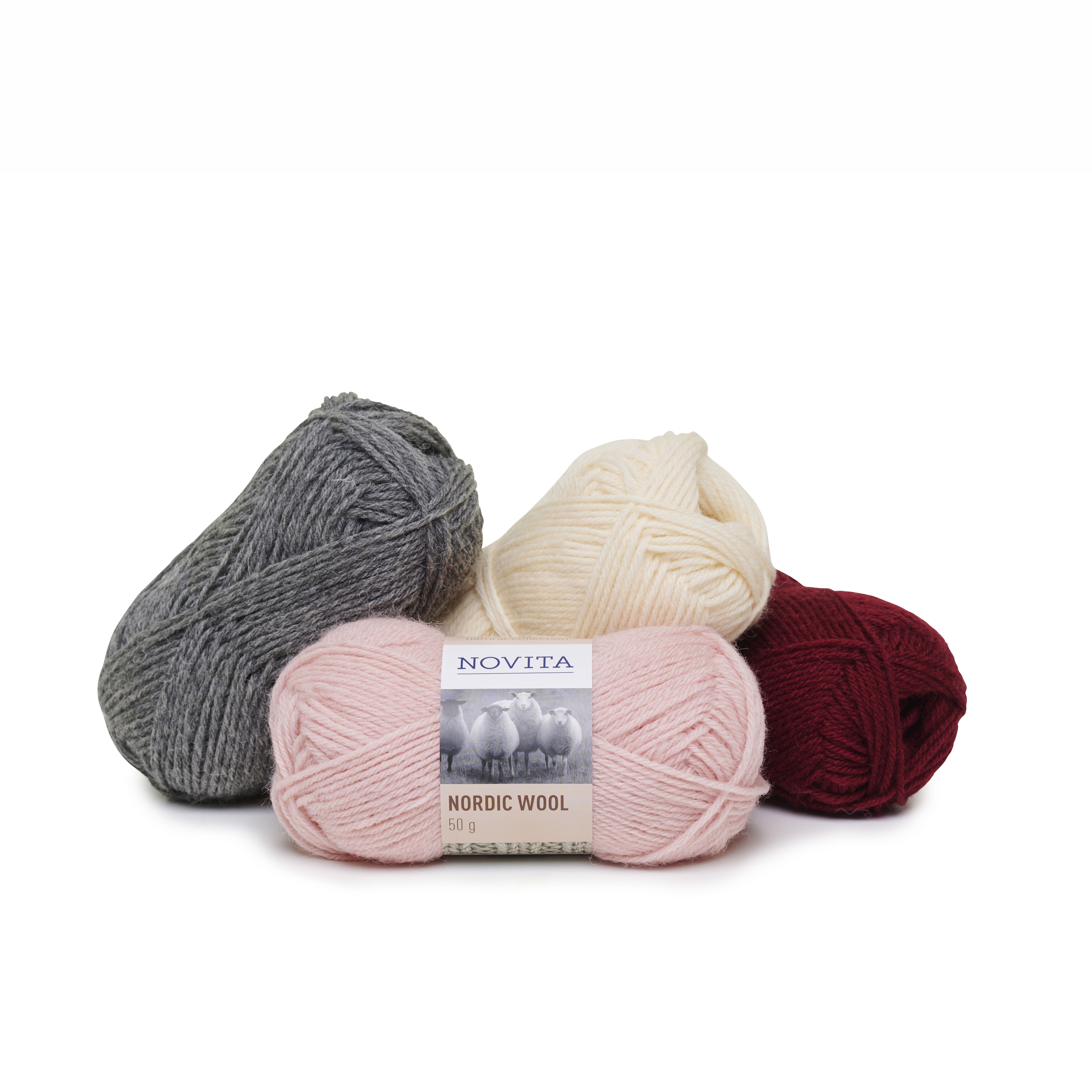 Novita Nordic Wool | Novita knits en 2020 | Laine, Moutons