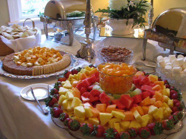 I like the cheese & cracker tray | Cheese, cracker tray