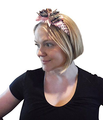 a7fae5d0f0735 Orange and Mossy Oak Turban Headband by TheCountryTrunk on Etsy ...
