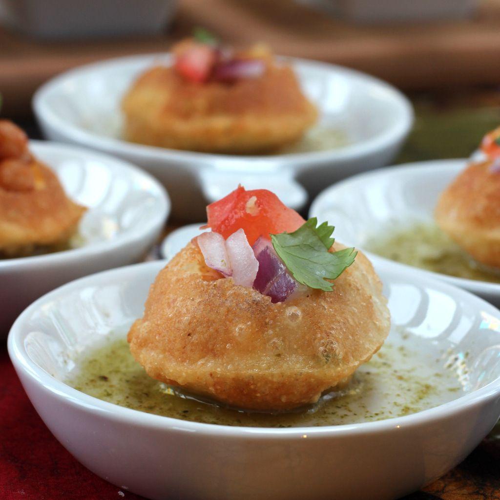 Pani puri on httpcooksjoyblog indian snacks and sweets pani puri on httpcooksjoyblog forumfinder Images