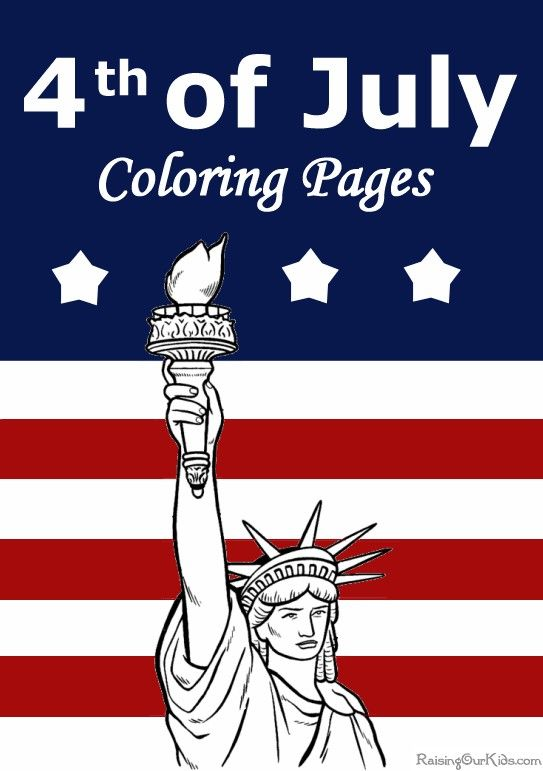 The Best Patriotic Coloring Pages Free 4th Of July American Flags