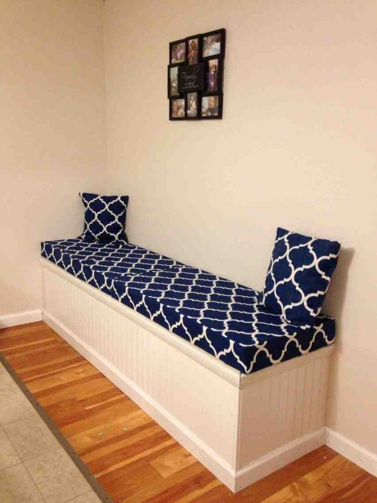 Storage Benches With Cushions Bench Cushions Storage Bench With Cushion Bench Cushion Cover