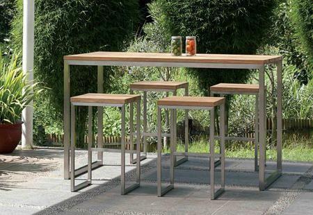 Outdoor Bar Table, Outdoor Bar Height Pub Tables