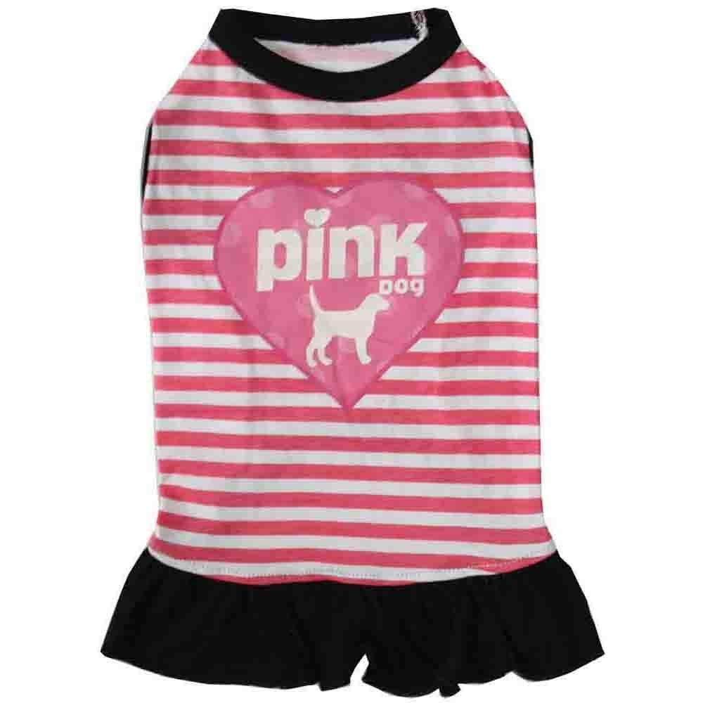 PandQ Estore Pet Costume Dog Dresses Shirt Clothes for Small Dog and Cat Pink *** Additional details found at the image link  : Dog Apparel and Accessories