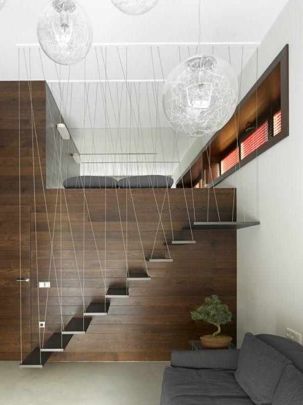 Luks Lofted Yatak Tasarim Diseno Pinterest Cama Diseno - Diseo-escaleras-interiores