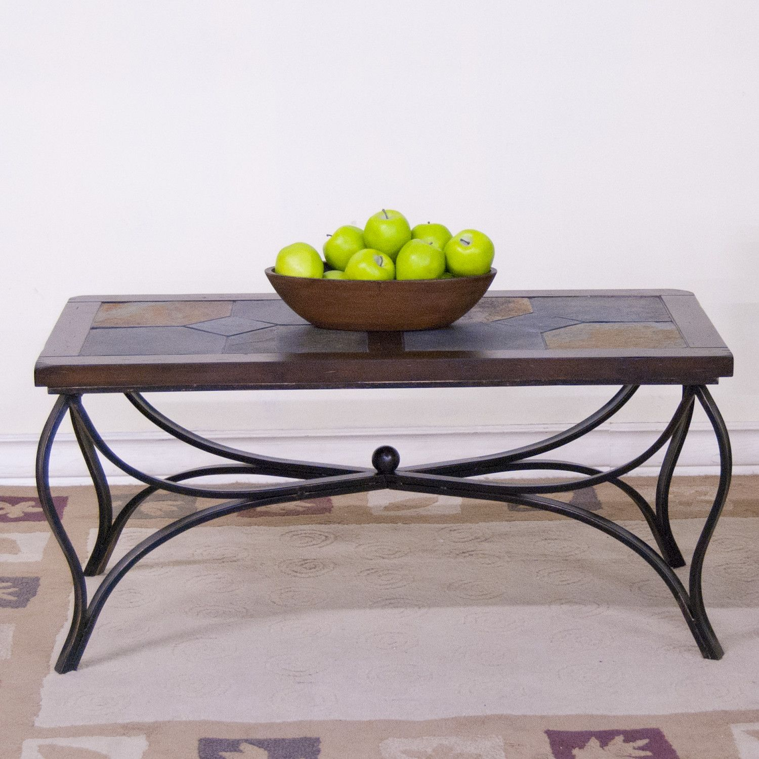 Coffee Tables Top Material Slate Stone Wayfair