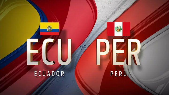 Peru recibe a Ecuador por las eliminatorias. ¿Quien es el favorito?
