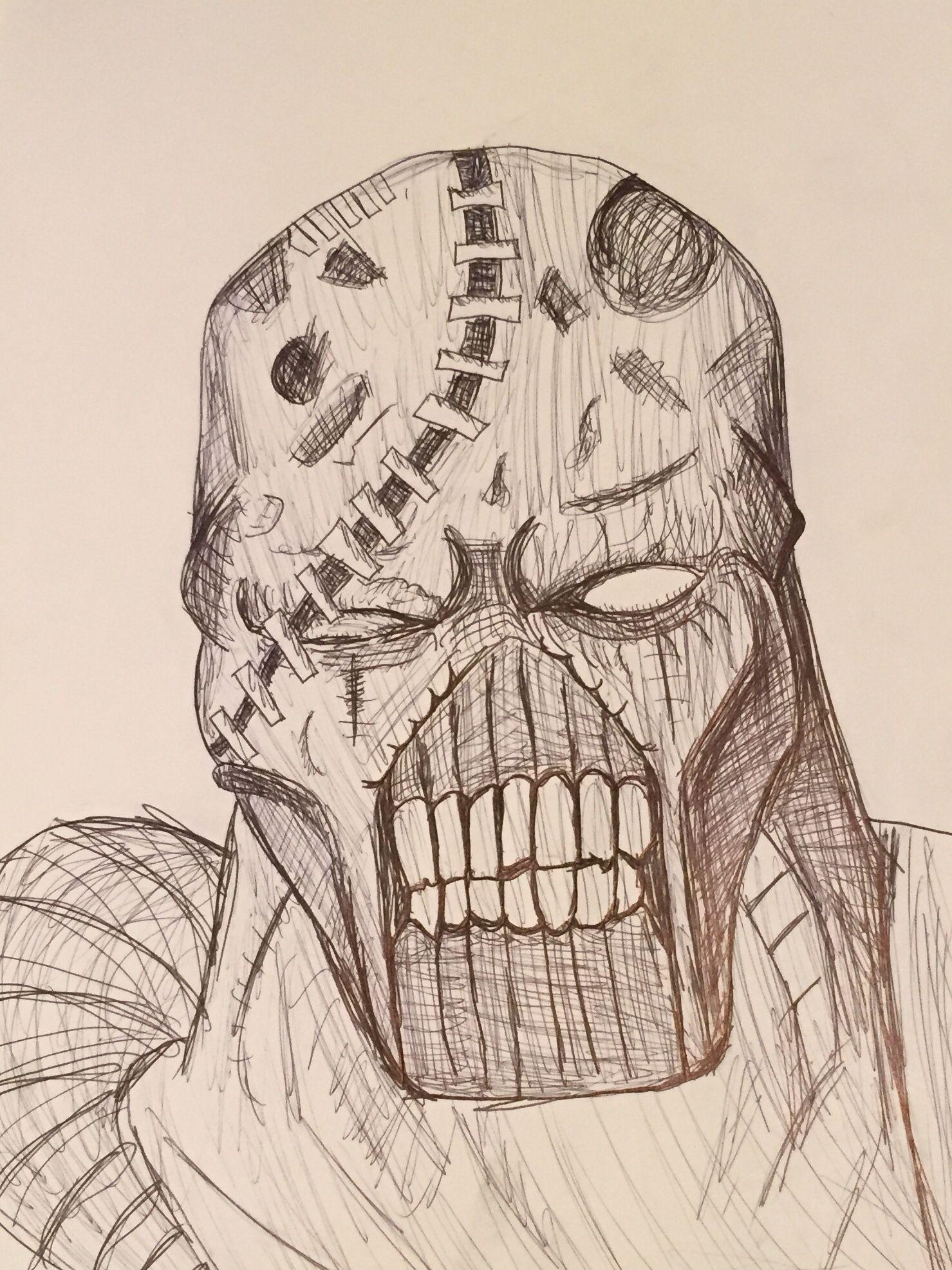 Nemesis From Resident Evil Drawing By Mira Leda Residentevil