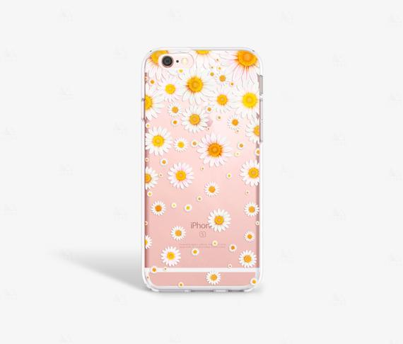 timeless design 50c13 003c4 iPhone XS Case, Daisy iPhone Xr Case Clear iPhone 8 Case iPhone 7 ...