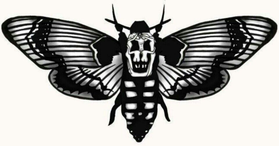 Silence of the lambs Lamb tattoo, Butterfly tattoo, Moth
