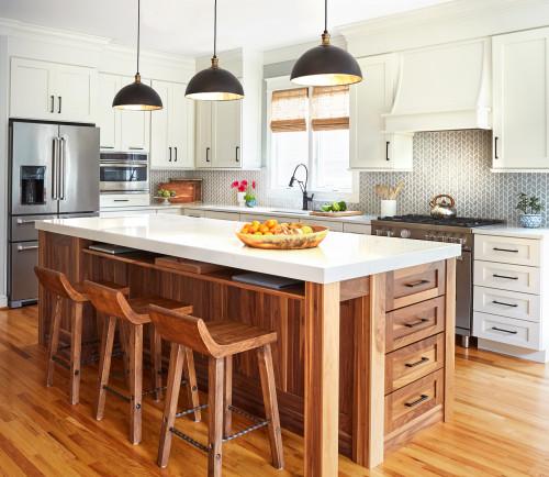 Most Popular Kitchen On Houzz 2020 Kitchn In 2021 Modern Kitchen Interiors Kitchen Design Kitchen Interior
