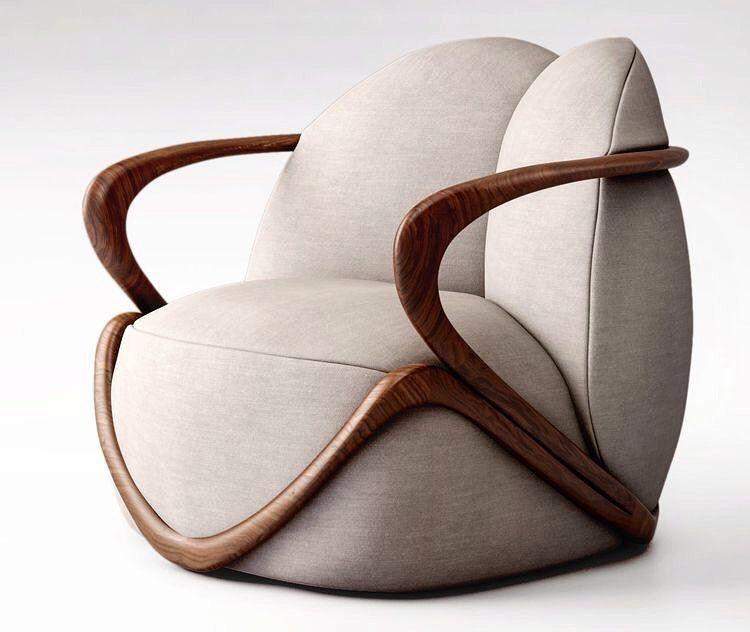 hug armchair designed by Ross Lovegrove