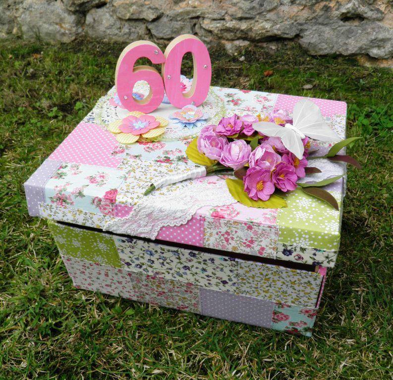 Une Urne D 39 Anniversaire 60 Ans Femme 60 Ans Pinterest Scrapbooking