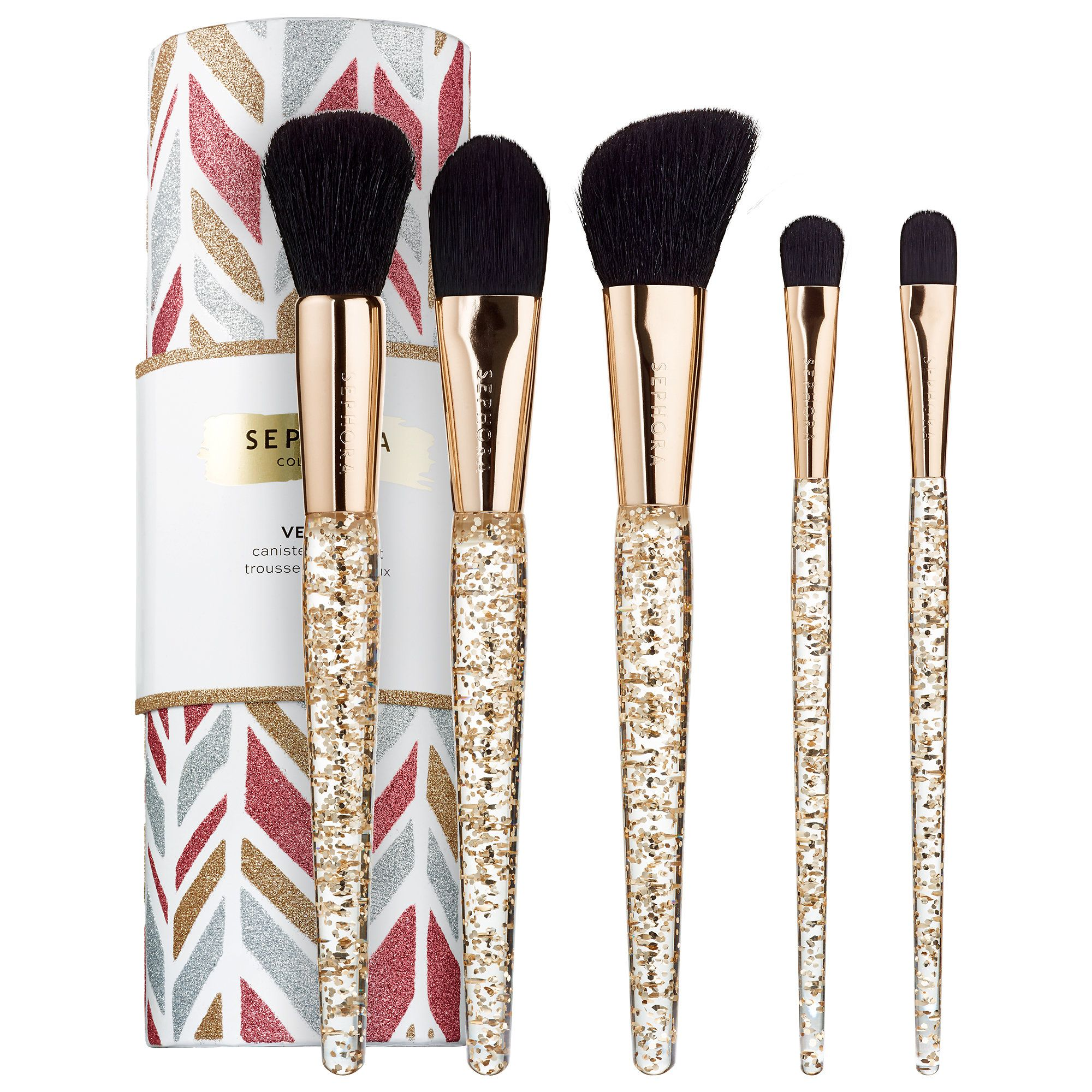 Shop SEPHORA COLLECTION's Vessel Canister Brush Set at