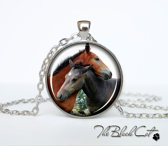 Horse pendant Horse necklace Horse jewelry by TheBlackCatPendants, $12.95