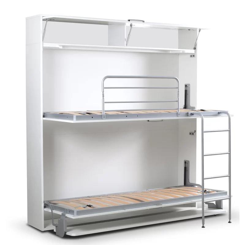 Sherlock Twin Bunk Bed With Mattress Twin Bunk Beds Bunk Beds