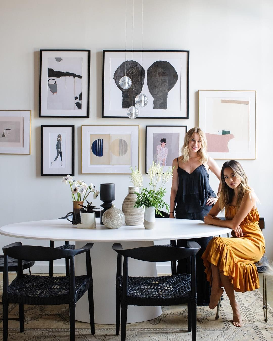 Bed Bath Beyond On Instagram We Re All For Jamiejchung S Charming New Condo Design We Tea Dining Room Design Modern Condo Decorating Dining Room Glam