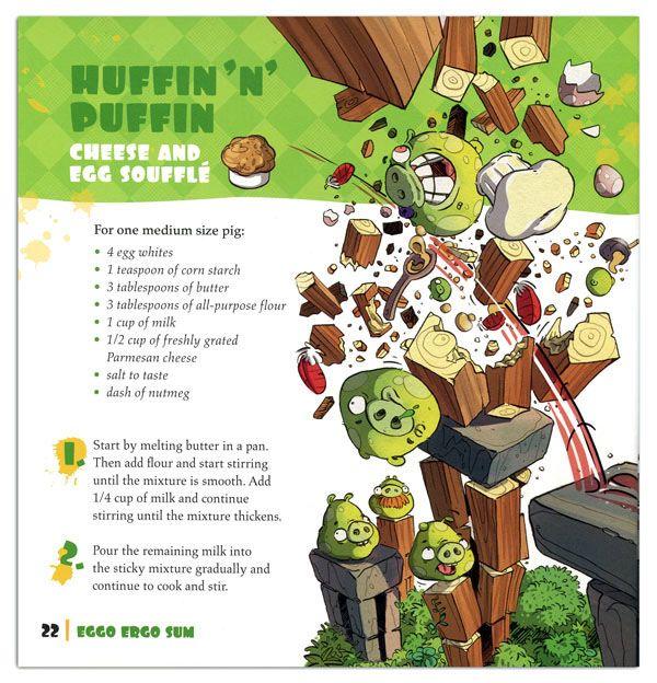 Angry Birds Bad Piggies Egg Recipes Cook Book Egg Recipes Cookbook Recipes Cooking Recipes