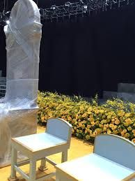 Image result for stage florals