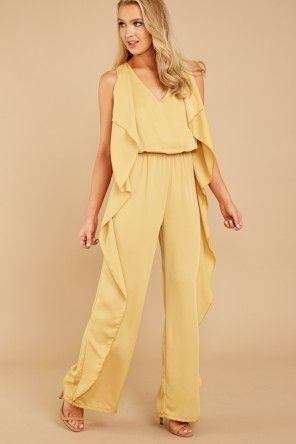 The Fact That This Is A Jumpsuit Is Bad Enough And The Ruffles Are