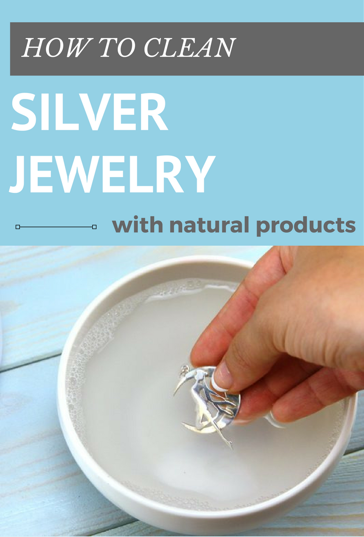 How to clean silver jewelry and products at home
