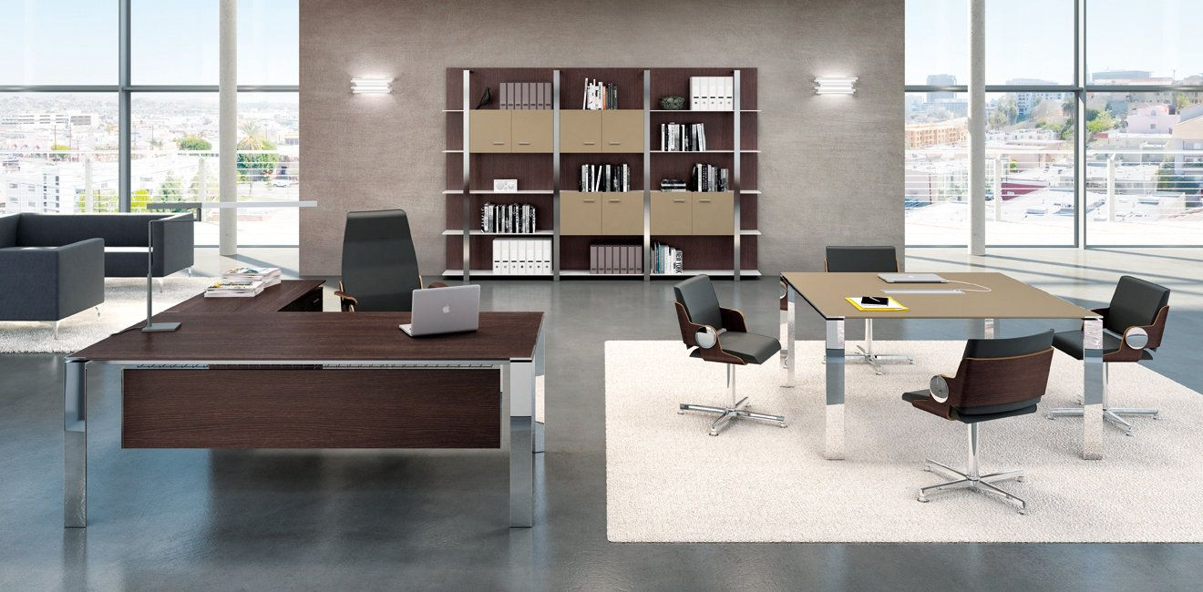 Bureau direction design contemporain hm48 jornalagora - Bibliotheque de bureau contemporain ...