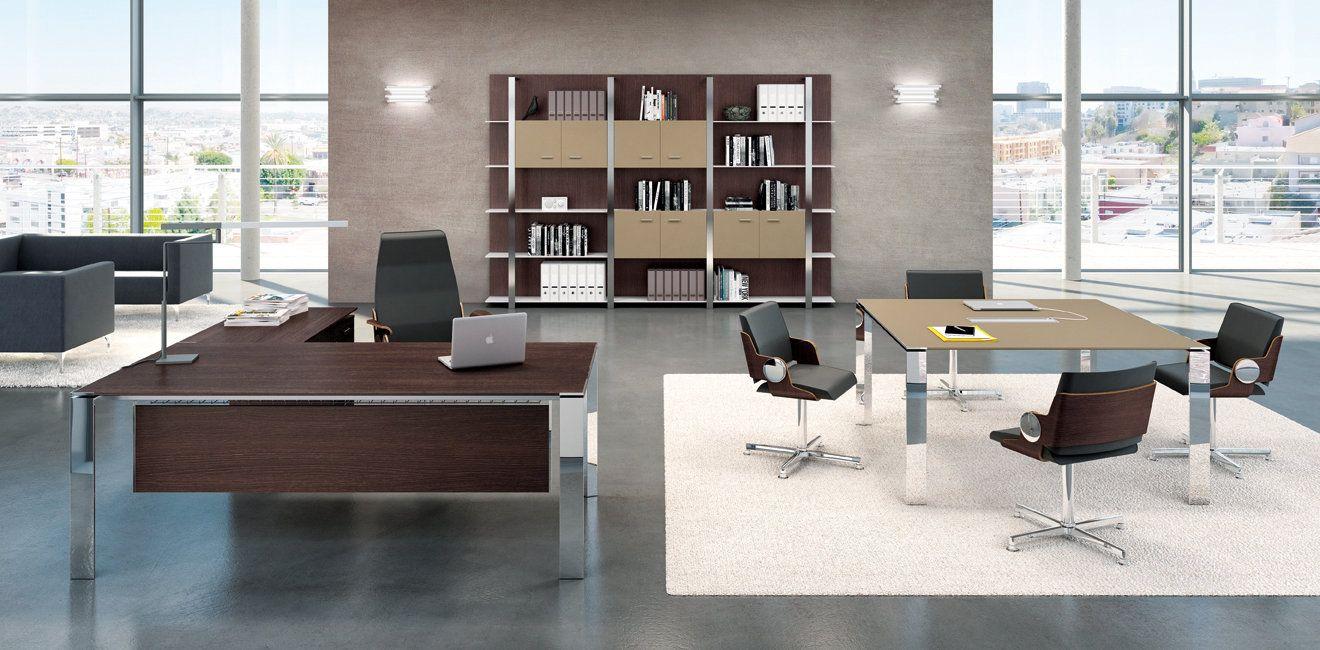 bureau de direction contemporain haut de gamme seven en. Black Bedroom Furniture Sets. Home Design Ideas