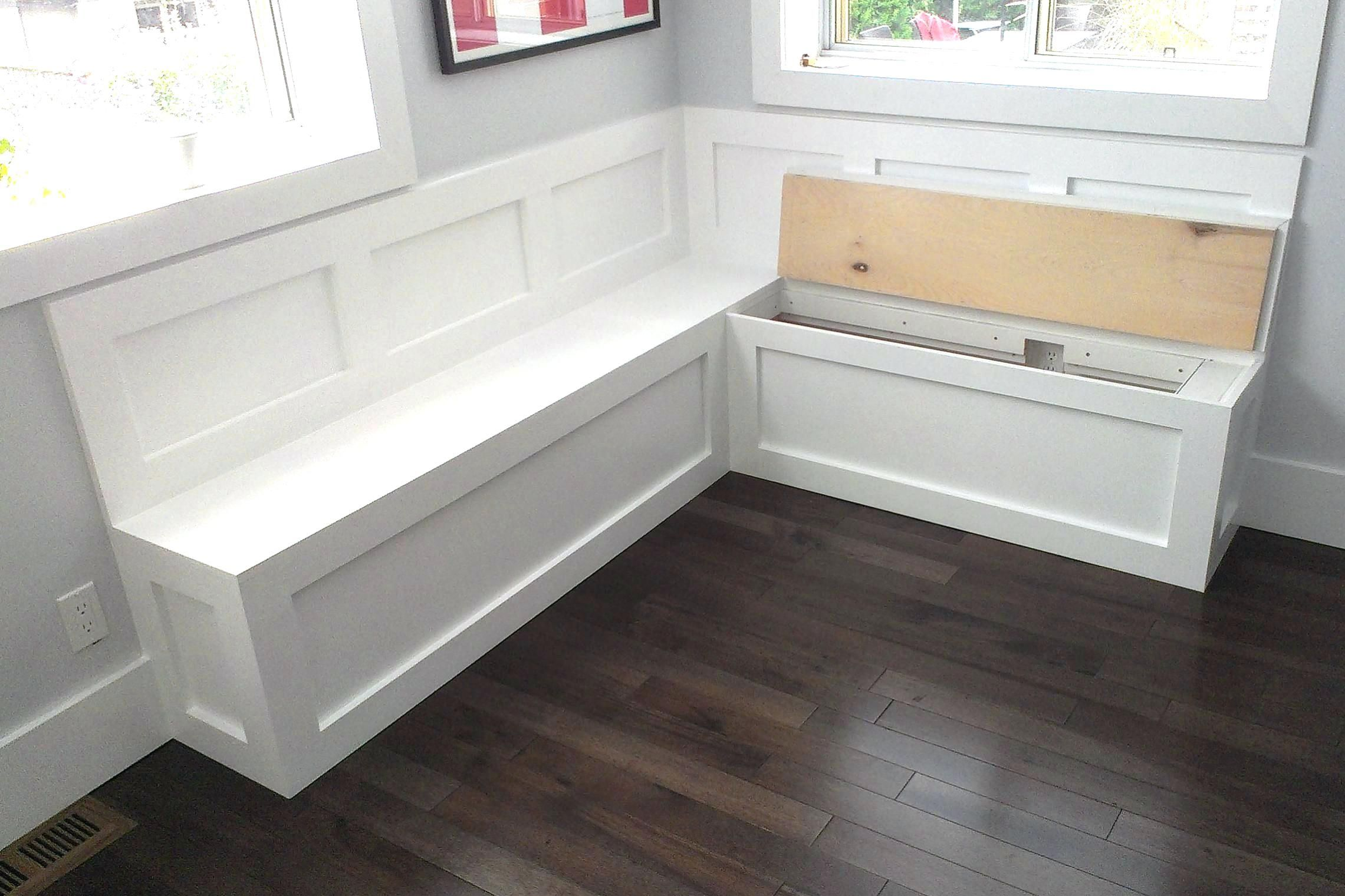 Kitchen Bench Seating With Storage Plans Bench Seating Kitchen