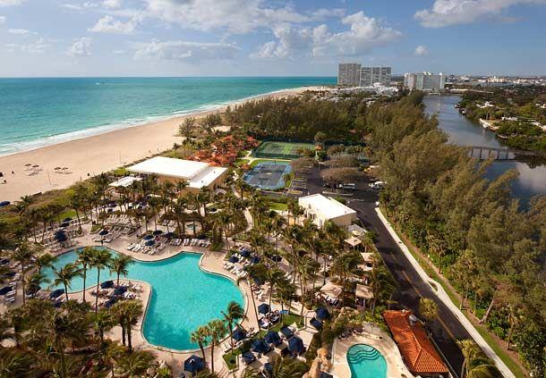 Outdoor Pool & Beach Aerial
