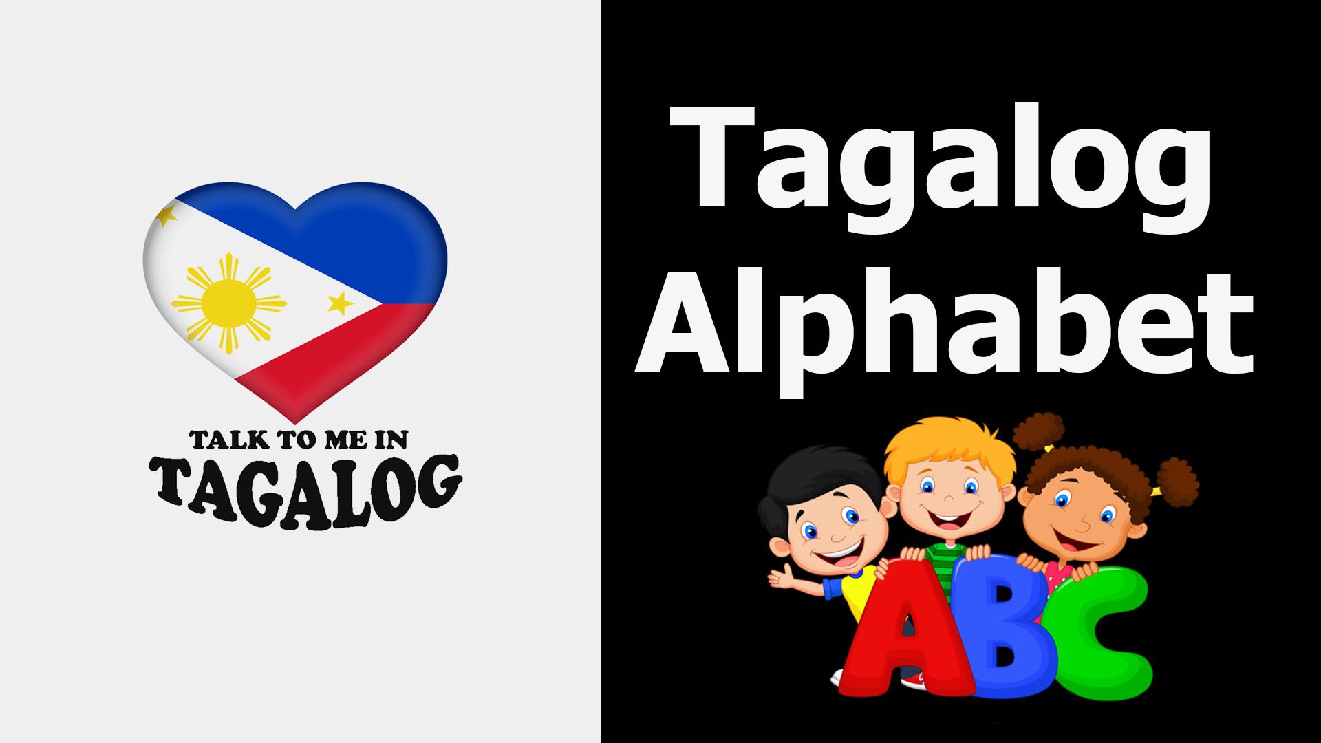 Learn The Tagalog Filipino Alphabet On Youtube It S