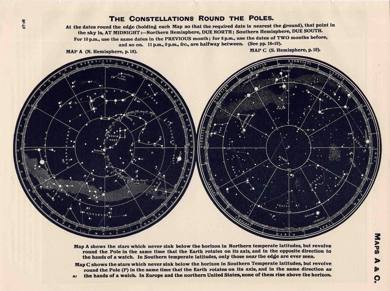 Google Image Result For Http Img1 Etsystatic Com 004 0 5663576 Il Fullxfull 357671617 H2w6 Jpg Constellation Map Constellations Star Map