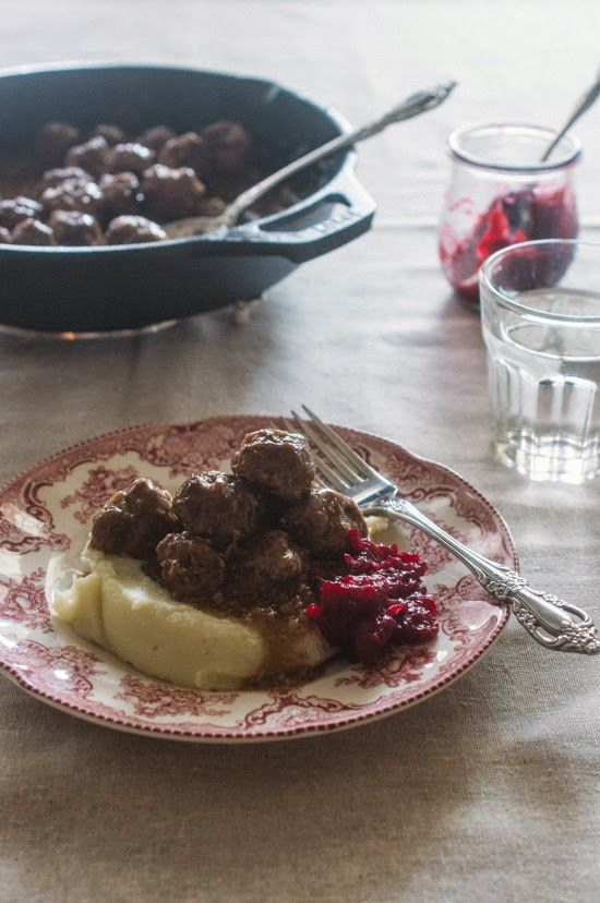 Sweet Treats: food, photography, life: Swedish Meatballs & Gravy with Cranberry Jam (Paleo with AIP adaptation)