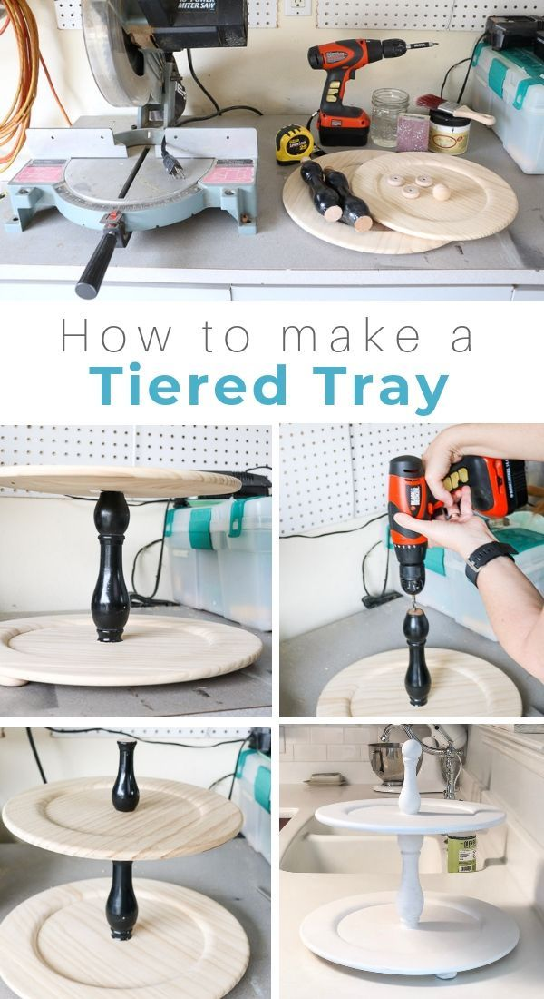 Photo of HOW TO MAKE A CHARMING TIERED TRAY THE EASY WAY