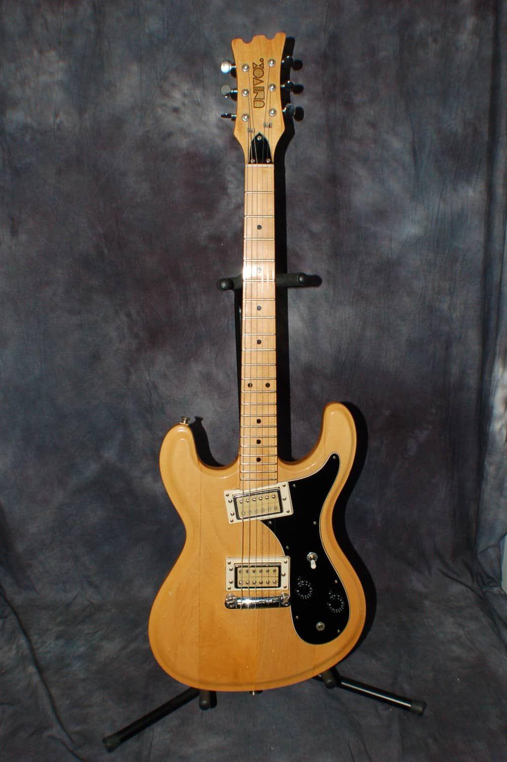 1976 Univox Hiflier Model U1818 Kurt Cobain Guitar Natural Pro Setup All Original Gigbag Lawman Guitars Reverb Japanese Guitar Guitar Cool Guitar