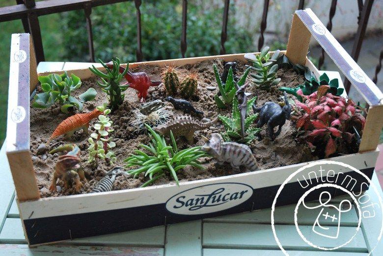Pflanzen Mit Kindern, Dinosaurier
