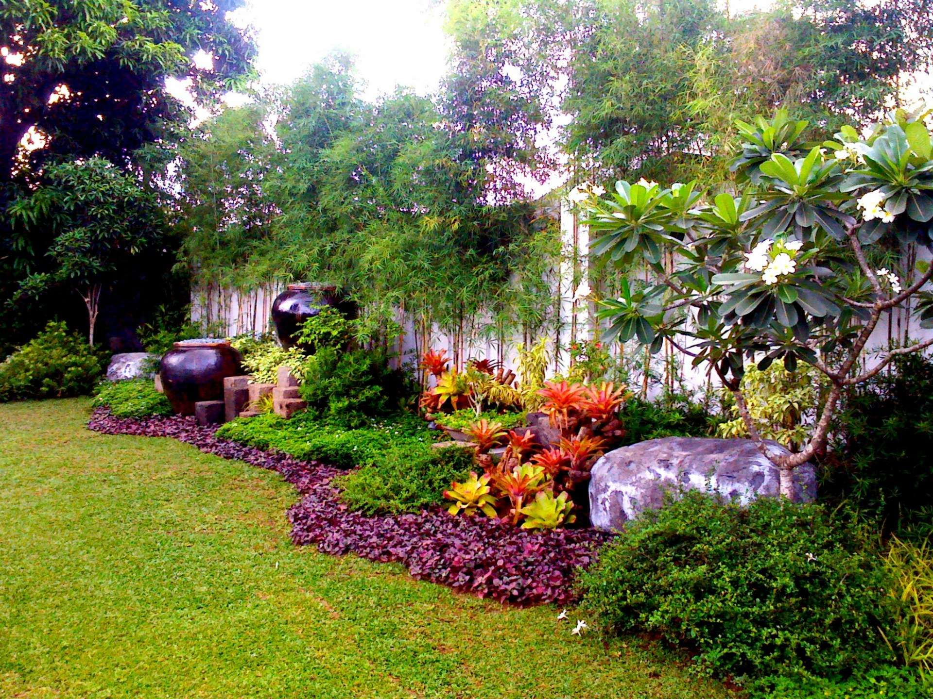 Simple garden landscape designs from primescape for Basic landscape design