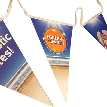 Triangle Bunting | Printed Bunting | Promotional Merchandise